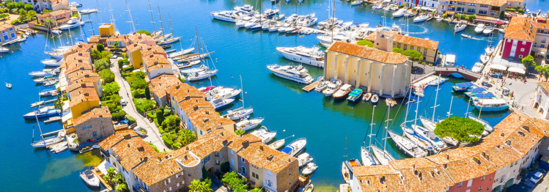 Port Grimaud – lagoon city in the Gulf of St. Tropez